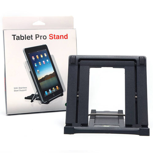 Tablet Pro Stand, With Stainless Steel Support