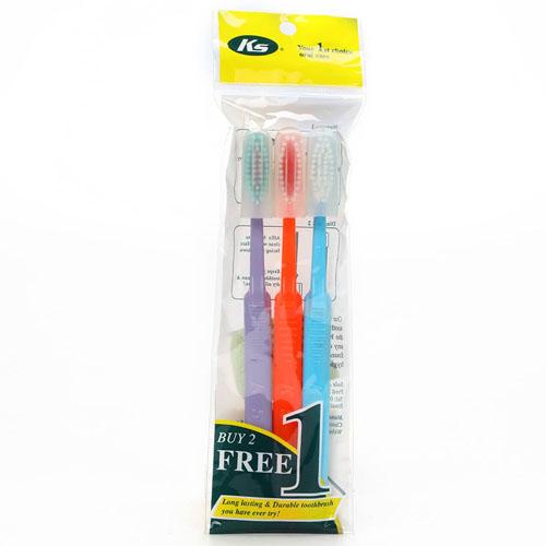 KS 2 Free 1 Toothbrush